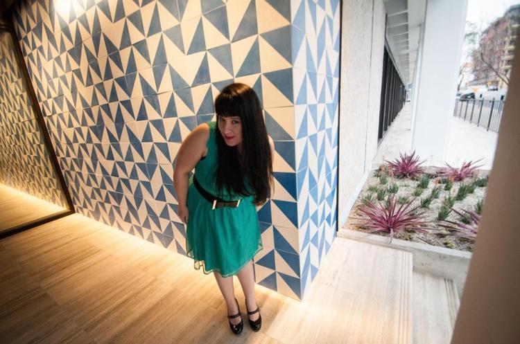 Crazy Wall - Green  dress full body